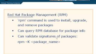 1002 - Red Hat Package Management