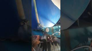 콘크리트 레미콘 차량 물통 물탱크  옥상 물탱크PE용접…