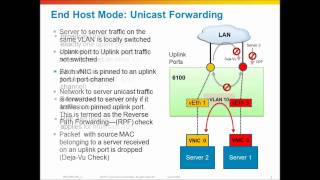 Cisco UCS Networking, Switching modes of the Fabric Interconnect