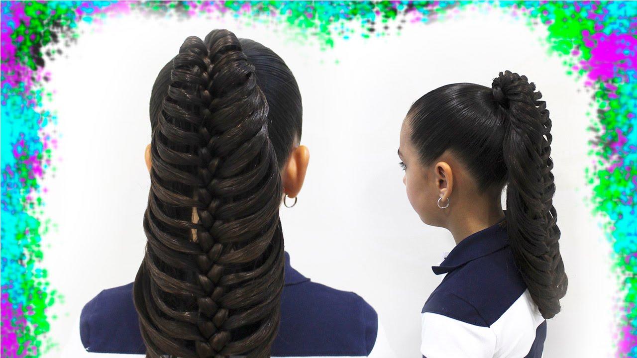 peinados con trenzas trenza hoja de palma youtube - Peinados De Trenzas