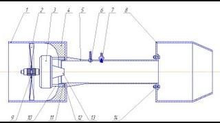 Jet Engine (Чертёж и описание)