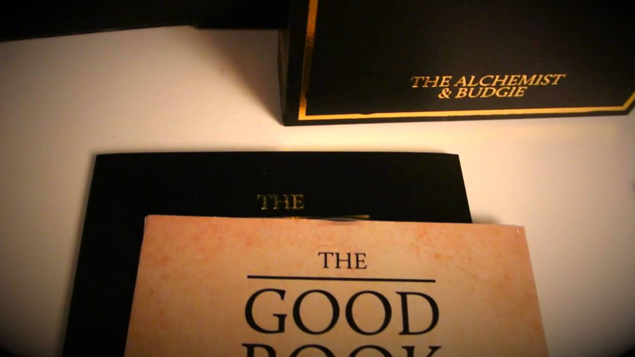dirtycrates com review the good book the alchemist budgie dirtycrates com review the good book the alchemist budgie