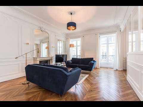(Ref: 16167) 3-bedroom furnished apartment for rent on rue de Presbourg (Paris 16th)