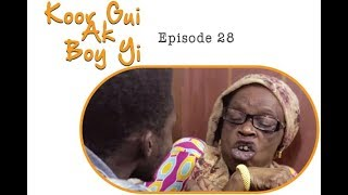 Koor gui ak boy yi avec maman Aicha dinama nekh Épisode 28