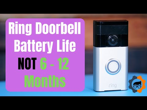 Ring Video Doorbell battery replacement - YouTube