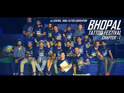 BHOPAL TATTOO FESTIVAL 2018 | 1st CENTRAL INDIA TATTOO CONVENTION BY AKASH CHANDANI | AFTER-MOVIE