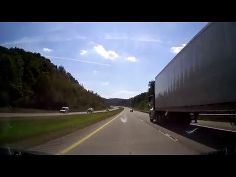 Driving from Charleston, West Virginia to Boone County, WV