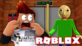 BALDI È NELL'ASCENSORE SPAVENTOSO! Roblox Gameplay
