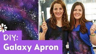DIY Galaxy Apron with Ann Reardon How to Cook That