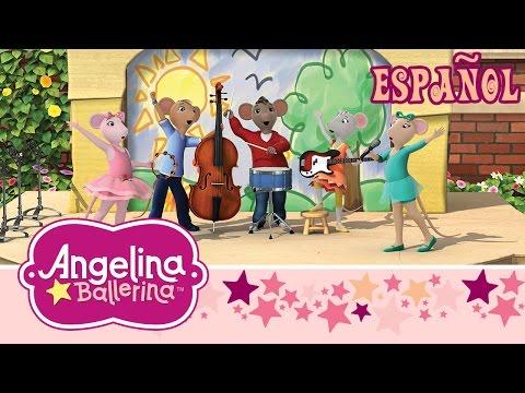 Angelina Ballerina - Angelina y el Periodico e Angelina y el Baile del Queso ( Episódio completo)