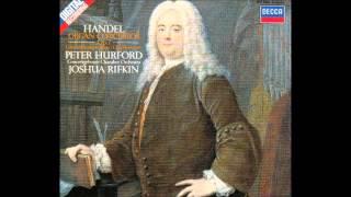 G F Handel Organ Concertos Op 7 Peter Hurford