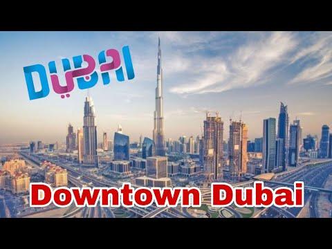 Downtown DUBAI – Driving in Dubai Livestream