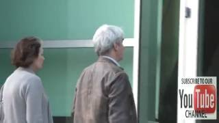 Sam Waterston arrives to ArcLight Theatre in Hollywood