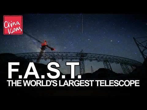 Construction of the World's Largest Radio Telescope | A China Icons Video