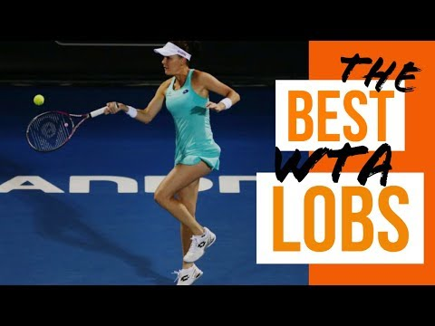 The best WTA lobs Agnieszka Radwanska, Simona Halep,  Ana Ivanovic, Maria Sharapova and more