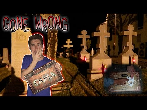 Thumbnail: OUIJA BOARD IN RUSSIAN WAR CEMETERY GONE TERRIBLY WRONG ( DEMON SPIRIT PROOF )