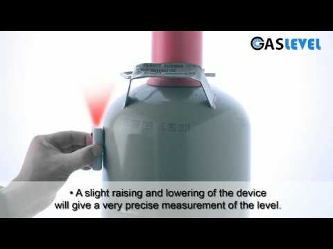 GASLEVEL: Level Indicator For Gas Cylinders