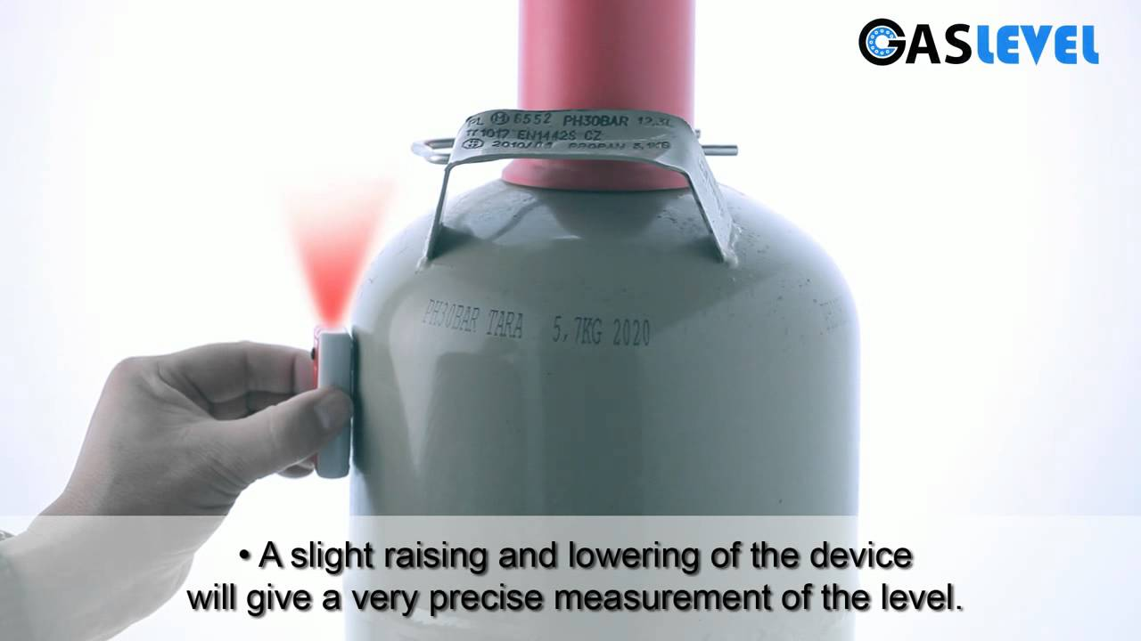 GASLEVEL: Level indicator for gas cylinders - YouTube