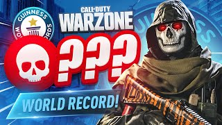 We could've BROKEN THE KILL WORLD RECORD in WARZONE