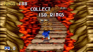 [TAS] Sonic 3D Blast - All Special Stages in 11:44 (Ring Attack)