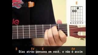 Dias Atrás - CPM 22 (aula de violão simplificada)