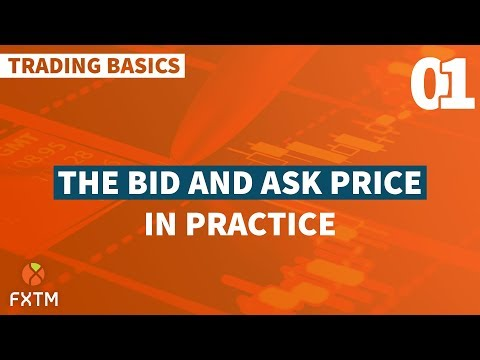 01 The Bid and Ask Price in Practice - FXTM Trading Basics