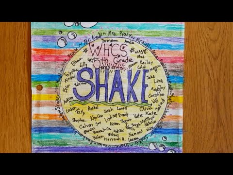 Shake - 5th Grade at West Hills Christian School - Mr. Riedl