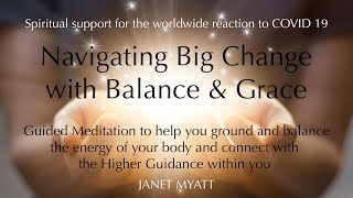 COVID 19 Meditation for Grounding and Inner Peace