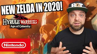 Hyrule Warriors Age of Calamity REACTION - New Zelda for Switch in 2020!
