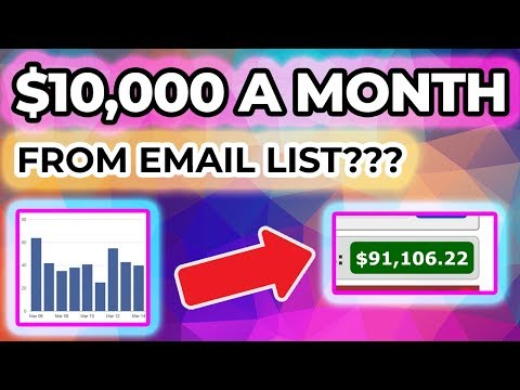 How To Build An Email List Fast! List Building Tutorial 2019 thumbnail
