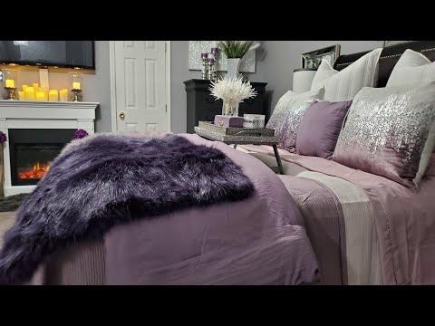 NEW LUXURY MASTER BEDROOM TOUR  AFFORDABLE DECOR  ideas de decoración del dormitorio principal