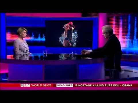 Shurooq Amin on BBC World News 'HARDtalk'