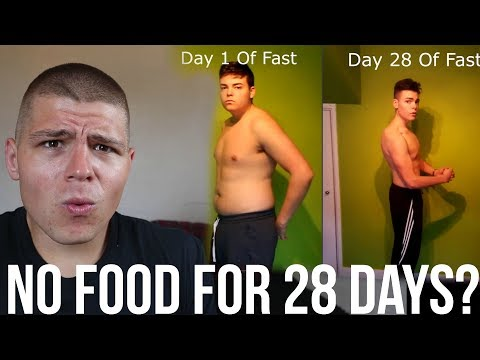 Shocking Video – 28 Day Water Fast to lose weight
