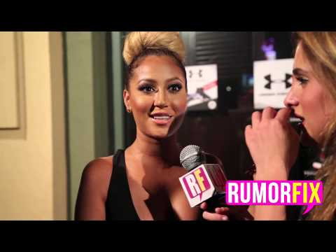 Adrienne Bailon Talks About The Real