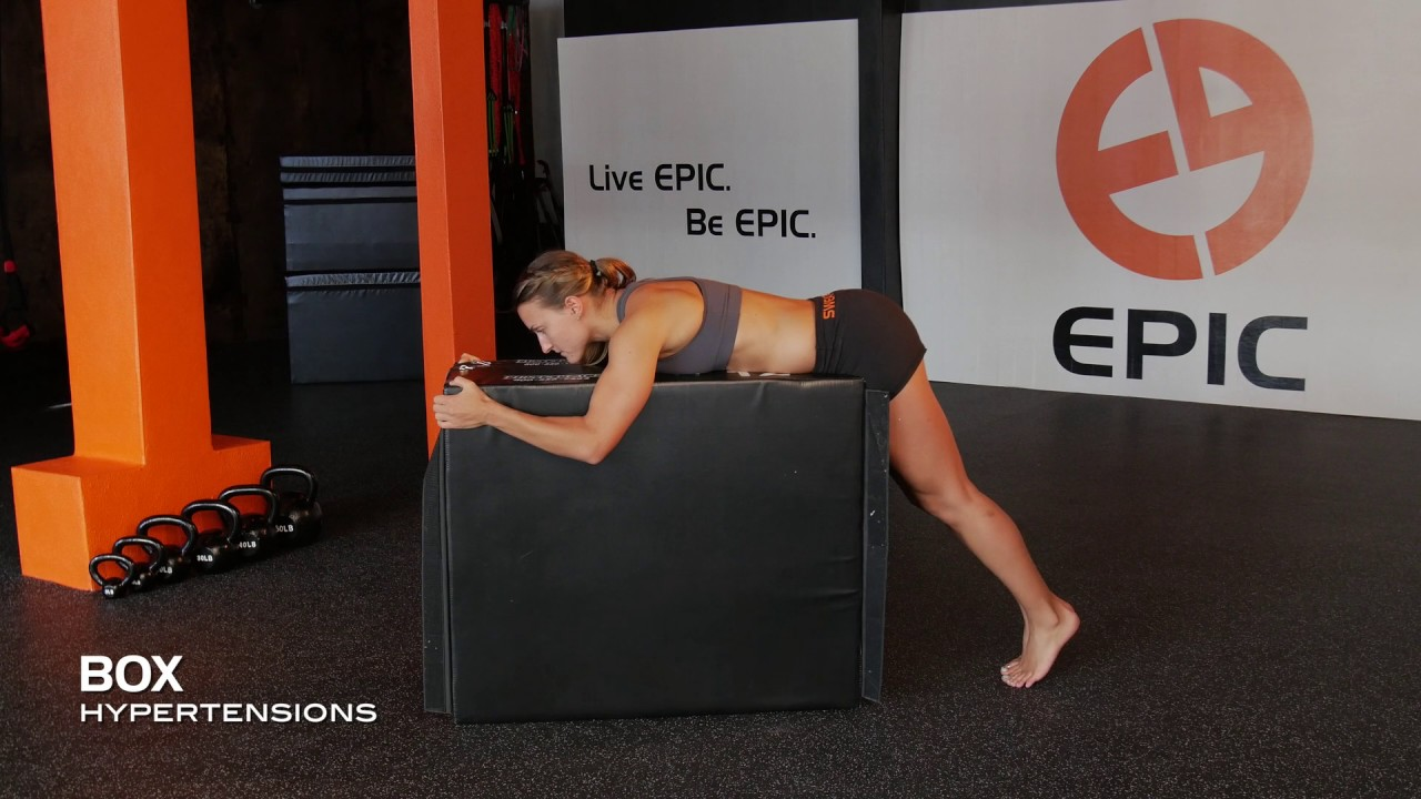 Box Hyperextensions | Plyo Box Workouts