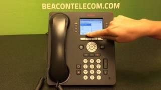 Avaya 9611g Making & Receiving Calls Appearances & Hold