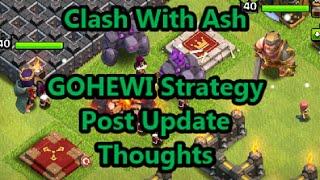 Clash of Clans - GOHEWI Strategy aka Why I'm Retiring Air Attacks