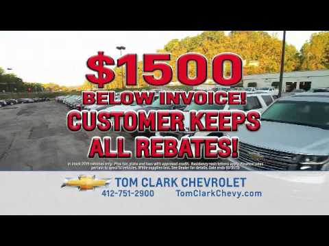 Tom Clark Chevy >> Tom Clark Chevy Inventory Blowout Youtube