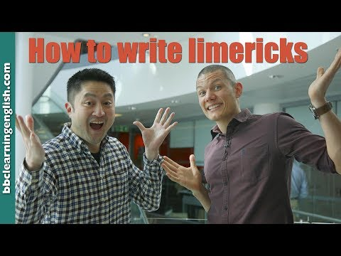 How to write a limerick (World Poetry Day)