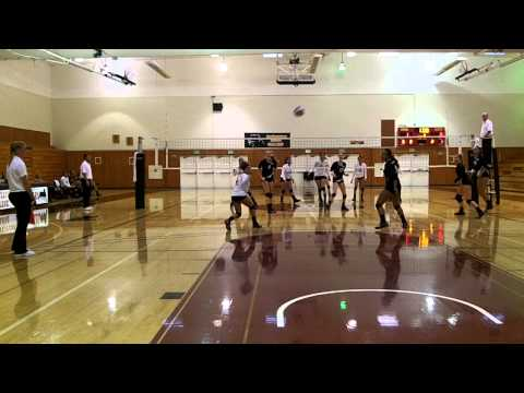 PCAC Volleyball: Southwestern College vs San Diego Mesa College Game 2