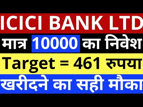    ICICI Bank में बड़ा टार्गेट   ICICI Bank Share Latest News   ICICI Bank Share Price Today   