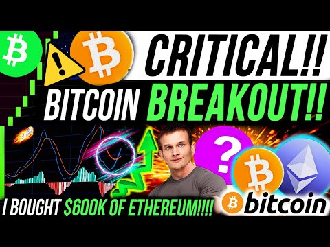 CRITICAL🚨BITCOIN $100K BREAKOUT!!! ETHEREUM NEXT MOVE!! TOP NEW ALTCOINS! CRYPTO NEWS & PRICE TARGET
