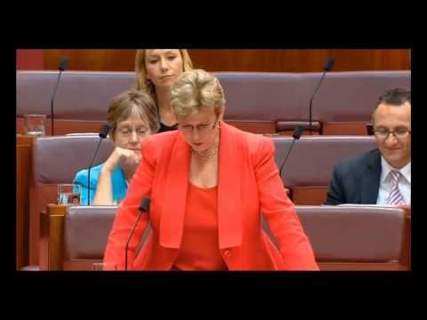 Senator Christine Milne Question Australian Parliament on Cambodia