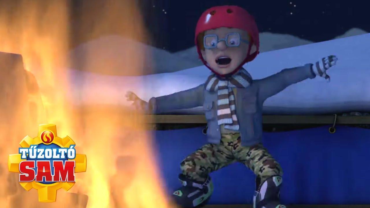 Tűzoltó Sam   Tűz és jég!   összeállítás   Rajzfilmek gyerekeknek