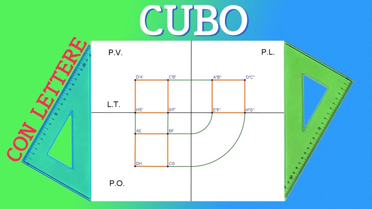 Proiezione ortogonale di un cubo liceo scientifico youtube for Costruzione di un pollaio su ruote