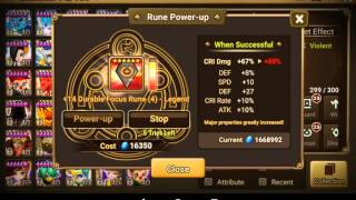 New rune power up X10 feature