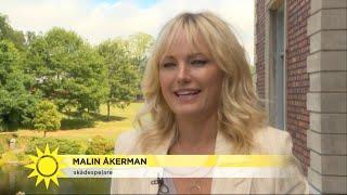 """Malin Åkerman gör första svenska filmroll som """"Sensuella Isabella"""" – följ med b - Nyhetsmorgon (TV4)"""