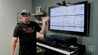 'Ol 55 Tom Waits Piano Lesson - Can't Read Music?  Learn To Play With Shawn