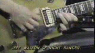 Jeff Watson of Night Ranger Amazing Guitar Solo