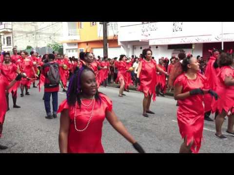 Carnaval de Guyane 2017 - mardis gras Mayouri Tchô Nèg